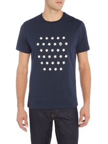 Perry Ellis America Star Print Short Sleeve T-shirt