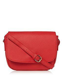 Red cross body bag
