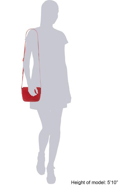 Pieces Red cross body bag
