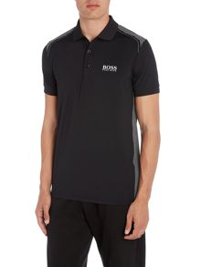 Hugo Boss Golf paddy pro 3 shoulder detail polo shirt