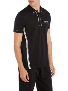Hugo Boss Golf paddy mk1 side stripe polo shirt