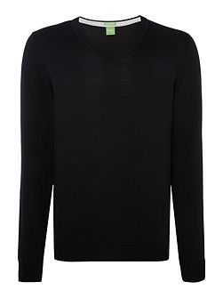 Golf veeh v neck merino jumper