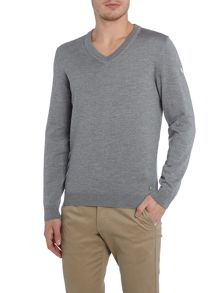 Hugo Boss Golf veeh v neck merino jumper