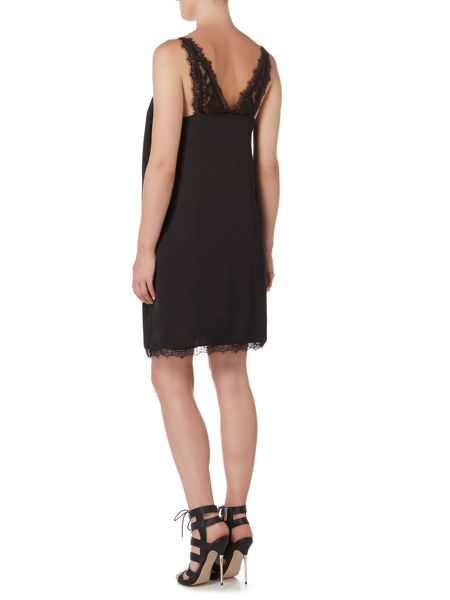 Therapy Valentina Lace Trim Cami Overlay Dress