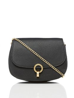 Harri twist lock crossbody bag