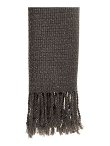 Therapy Metallic weave scarf