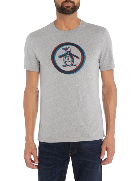 Original Penguin 3D Circle Logo Short Sleeve T-shirt