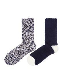Dickins & Jones Popcorn cosy sock 2 pack