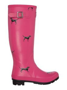 Joules Printed Tall Welly