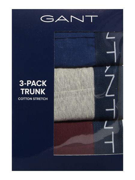 Gant 3 Pack Fashion Block Color Trunk