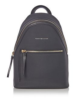 Love Tommy Black Mini Backpack