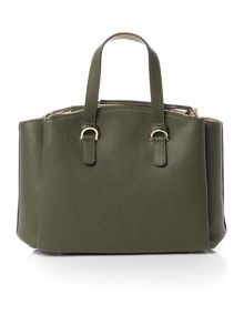 Tommy Hilfiger Core green medium satchel bag