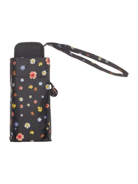 Fulton TINY ROTARY PRINT FLOWER UMBRELLA