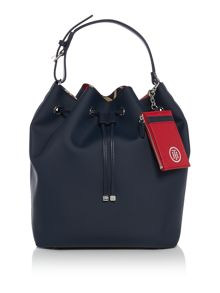 Tommy Hilfiger Love Tommy Navy Large Bucket Bag