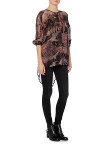 Label Lab Suri eagle print blouse