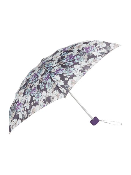 Fulton Tiny visual rotary  floral print umbrella