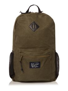 Original Penguin Waxed Canvas Backpack