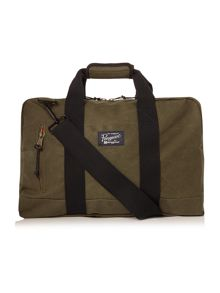 Original Penguin Waxed Canvas Weekend Bag