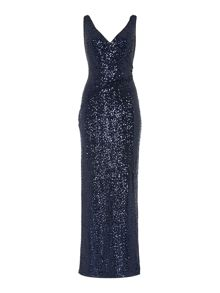 Lauren Ralph Lauren Mandalyn sequin gown
