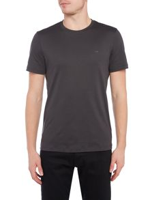 Michael Kors Slim fit crew neck sleek mk logo t shirt