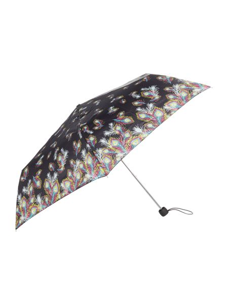 Fulton Superslim peacock umbrella