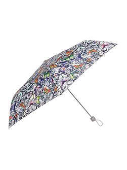 Superslim butterfly and roses umbrella
