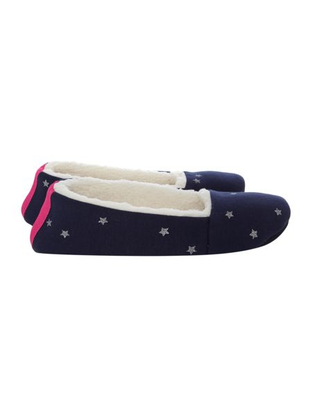 Joules Womens Pattern Slippers