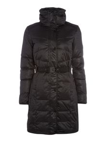 Calvin Klein Orla long fitted padded jacket