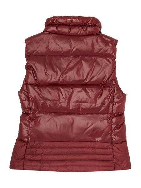 Calvin Klein Oona Down Fitted Vest