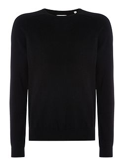 Diamond G Cotton-Mix Knitted Jumper