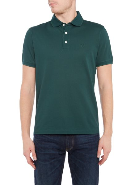 Gant Diamond G Pique Polo Shirt