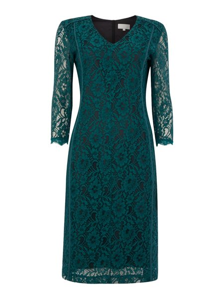 InWear V-neck lace dress