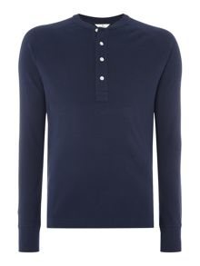 Gant Diamond G Henley Long Sleeve T-shirt