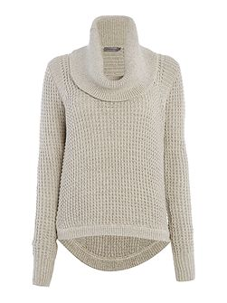 Shar turtle neck knit sweater