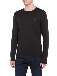 Michael Kors Slim fit sleek crew neck long sleeve t shirt