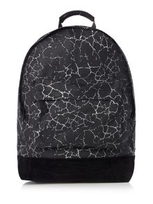 Mi Pac Cracked Print Backpack