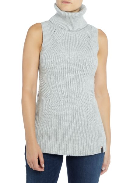 Calvin Klein Saelyn turtle neck knit tunic