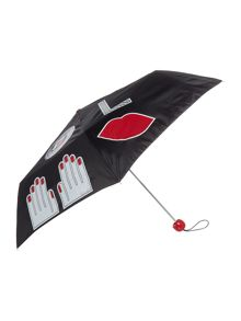 Lulu Guinness Sticker superslim umbrella
