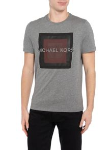Michael Kors Square dot graphic print t shirt