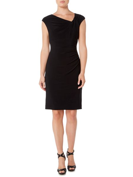 Lauren Ralph Lauren Ruched sleeveless dress