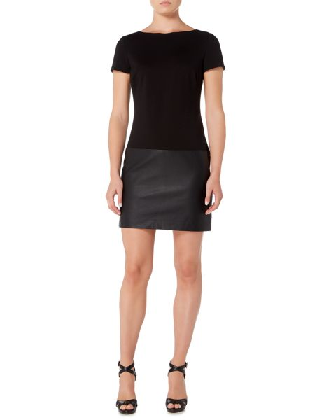 Lauren Ralph Lauren Short sleeve dress with contrast skirt