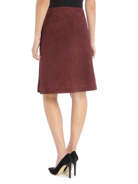 InWear Suede button skirt