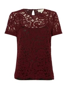Linea Lace shell top