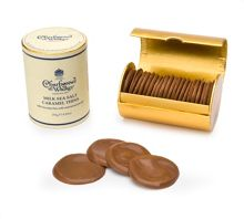 Charbonnel et Walker Milk sea salt caramel thins