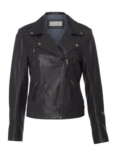 Maison De Nimes Pacific Leather Jacket