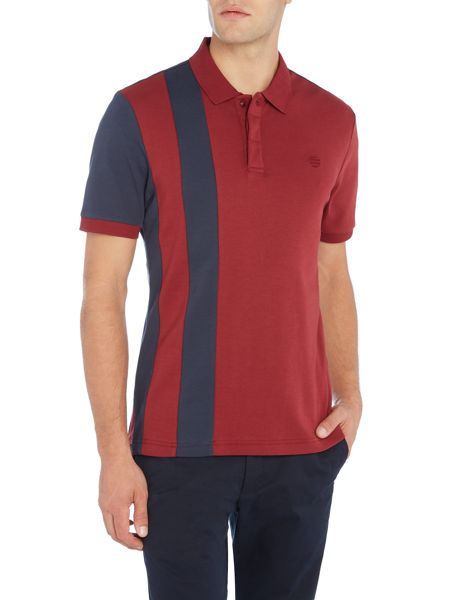 Perry Ellis America Scarf Stripe Polo Shirt