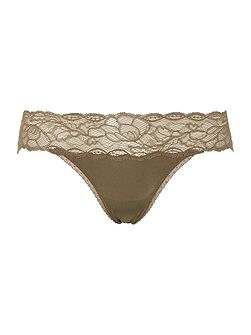 Seductive comfort with lace hipster