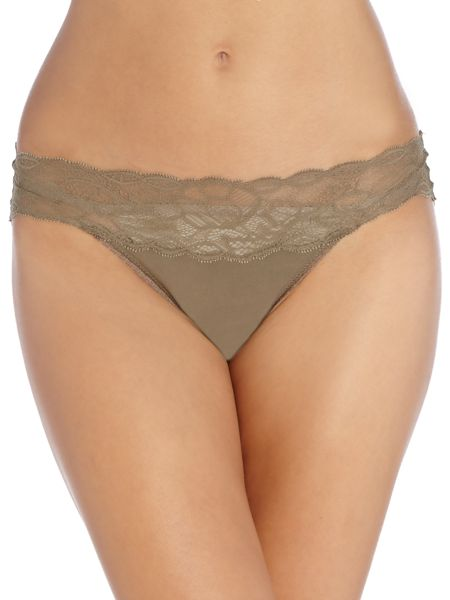 Calvin Klein Seductive comfort with lace hipster