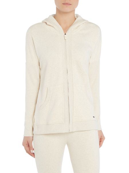 UGG Mavis knit fleece zip hooded top