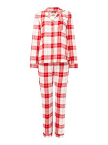 UGG Cozy plaid pyjama gift set